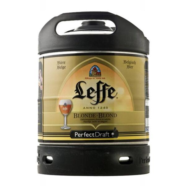 Fusto Leffe Blonde Perfect Draft lt.6