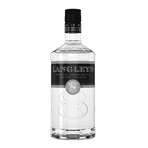 Gin Langley's N.8 Distilled cl. 70 vol. 41,7%