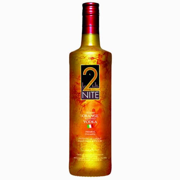 Vodka premium 2Nite Arance di Sicilia cl.100 vol. 40%