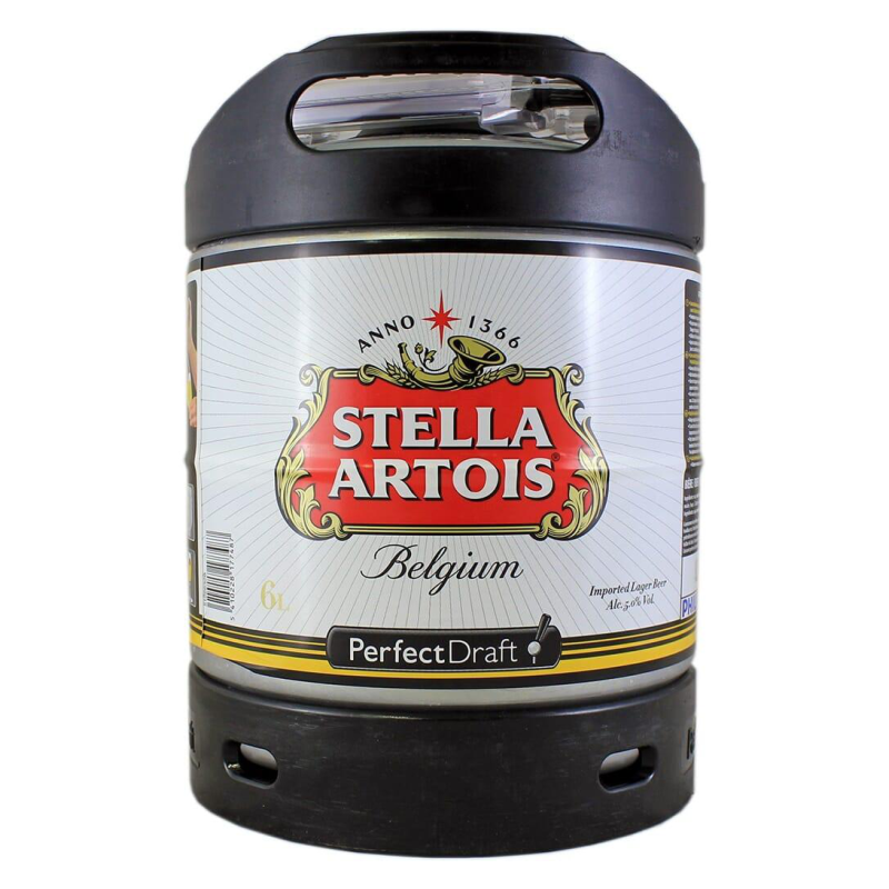 Fusto Stella Artois Perfect Draft lt.6